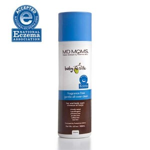 MD MOMS Fragrance Free Haie And Body Wash Eczema Accepted