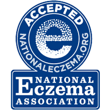 MD Moms is the recipient of the National Eczema Seal of Acceptance for multiple products aimed at treating eczema without the use of chemical irritants
